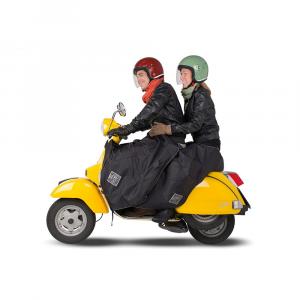 R091N Copri gambe Termo scudo passeggero scooter Universale Nero Tucano Urbano