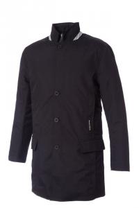 Cappotto impermeabile George, con gilet staccabile. Nera. Tg 52IT-XL. Tucano Urbano