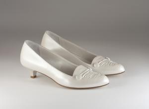 Scarpa donna elegante da sposa e cerimonia in pelle Ferracuti Art.6010