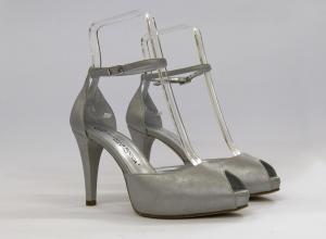 Scarpa elegante da cerimonia donna in pelle burma con cinghietta regolabile Guido La Rocca Art.G934