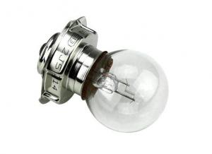 20.0401/8 LAMPADINA PIATTELLO SCODELLINO 6V 15W P26S PN