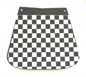 Paraspruzzi per Vespa, a scacchi bianco/nero