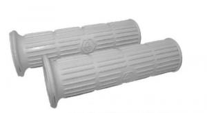 Manopole per Vespa PX PE Super P 150 S, con logo grigio