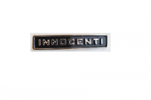 108922055093 Targhetta INNOCENTI per Lambretta posteriore