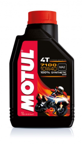 OLIO MOTORE 100% SINTETICO 7100 10W40 PER MOTO 104091 MOTUL