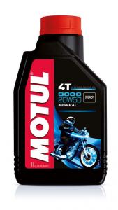 OLIO MOTUL 3000 20W50 4TEMPI MINERALE PER MOTO - SCOOTER 104048