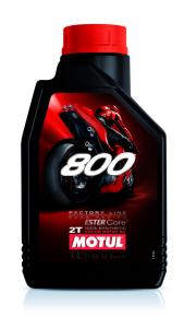 OLIO MOTUL 800 FACTORY LINE ROAD RACING 100% SINTETICO 2 TEMPI