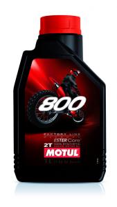 OLIO MOTUL 800 FACTORY LINE OFF ROAD 100% SINTETICO 2TEMPI