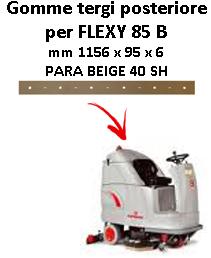 Gomma tergi posteriore per lavapavimenti FLEXY 85 B  Comac