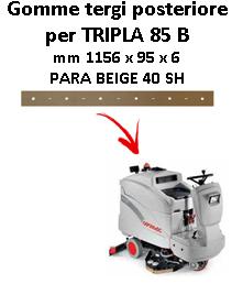 Gomma tergi per lavapavimenti TRIPLA 85 B  Comac