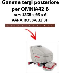 Gomma tergi posteriore per lavapavimenti  OMNIA 42 B Comac