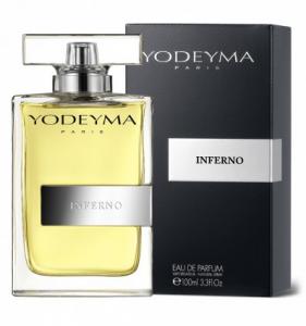 Yodeyma INFERNO Eau de Toilette 100ml (Fahrenheit) Profumo Uomo