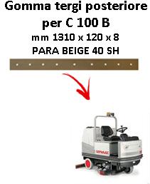 Gomma tergi posteriore per lavapavimenti COMAC C 100  B