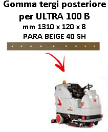 Gomma tergi posteriore per lavapavimenti COMAC ULTRA 100  B