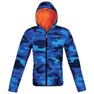 Giacca casual ACERBIS LOUIS da uomo. Camouflage/Blu. Tg. XL