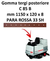 Gomma tergi posteriore per lavapavimenti COMAC C 85  B
