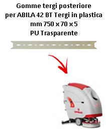 ABILA 2010 42 BT  GOMMA TERGI posteriore Comac