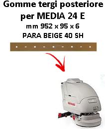Gomma tergi posteriore per lavapavimenti COMAC MEDIA 24 E