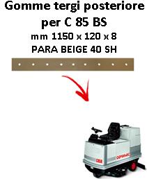 Gomma tergi posteriore per lavapavimenti COMAC C 85 BS