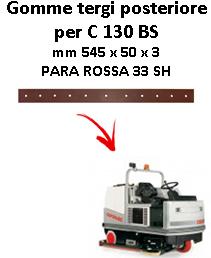 Gomma tergi posteriore per lavapavimenti COMAC - C 130 BS