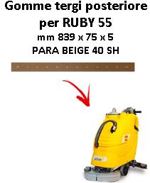 Gomma tergi posteriore per lavapavimenti ADIATEK - RUBY 55
