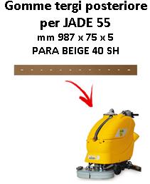 Gomma tergi posteriore per lavapavimenti ADIATEK - JADE 55