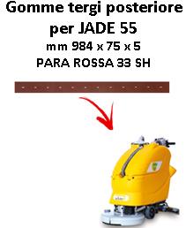 Gomma tergi posteriore per lavapavimenti ADIATEK JADE 55