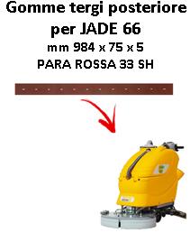 Gomma tergi posteriore per lavapavimenti ADIATEK - JADE 66