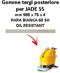 Gomma tergi posteriore per lavapavimenti ADIATEK modello JADE 55