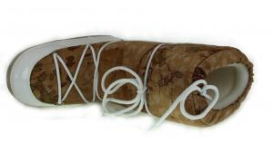 Bottes de neige rembourrée avec semelle en caoutchouc