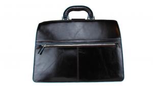 Briefcase  Piquadro Blue square CA2007B2 MOGANO
