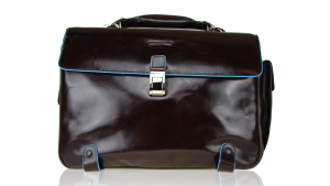 Sac business Piquadro Blue square CA1066B2 MOGANO
