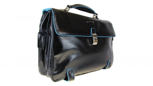 Briefcase  Piquadro Blue square CA1066B2 NERO