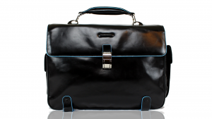 Sac business Piquadro Blue square CA1068B2 Nero
