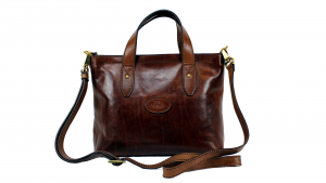 Hand and shoulder bag  The Bridge Sfoderata luxe 04421301 14 Cuoio