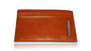 Porta carte di credito Piquadro Blue square PP906B2 Arancio