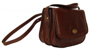 Shoulder bag  The Bridge  04402201 14 cuoio