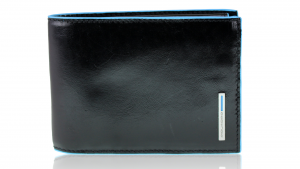 Man wallet Piquadro Blue square PU1392B2 NERO