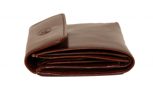 Woman wallet The Bridge  01771801 14 cuoio