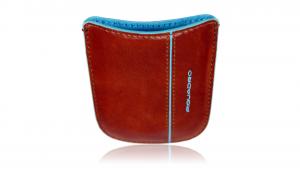 Mobile holder  Piquadro Blue square AC2820B2 Arancio