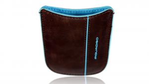 Mobile holder  Piquadro Blue square AC2820B2 Mogano
