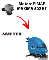 Motore Ametek di aspirazione per lavapavimenti FIMAP MAXIMA 502 BT