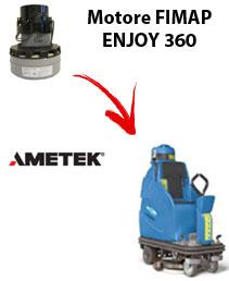 Motore Ametek di aspirazione per lavapavimenti FIMAP ENJOY 360