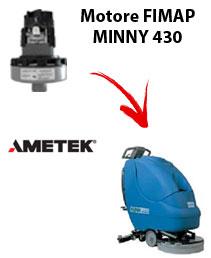 Motore Ametek di aspirazione per Lavapavimenti FIMAP MINNY 430