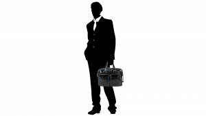 Briefcase  Piquadro Blue square CA2765B2 NERO