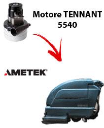 Motore Ametek di aspirazione per Lavapavimenti Tennant 5540