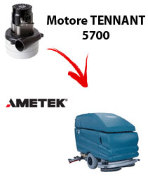 Motore Ametek di aspirazione per Lavapavimenti Tennant 5700