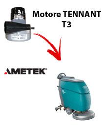 Motore Ametek di aspirazione per Lavapavimenti Tennant T3