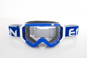 Maschera DIRT GOOGLES ZeroCinque MX0527 per Sport fuoristrada. Blu/Bianco