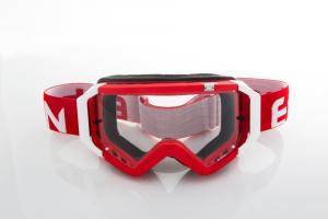 Maschera DIRT GOOGLES ZeroCinque MX0528 per Sport fuoristrada. Rosso/Bianco
